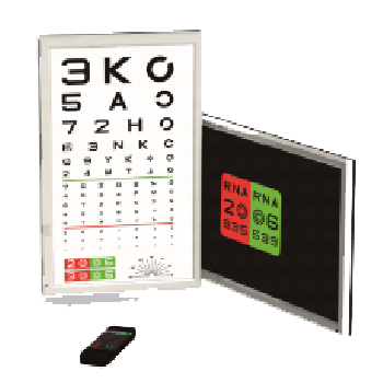 TSLC-2000(LCD CHART) google's android embedded, Utilization ability, screen reverse, AMSLR Grid, ETDERS, high resolution, Random chart, Useful special chart.